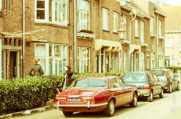 scène de la rue. Tuindorp Vogelbuurt.