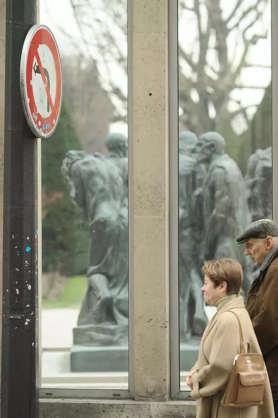 au musée Rodin, Paris VII