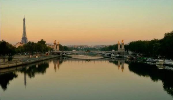 La Seine comme un miroir