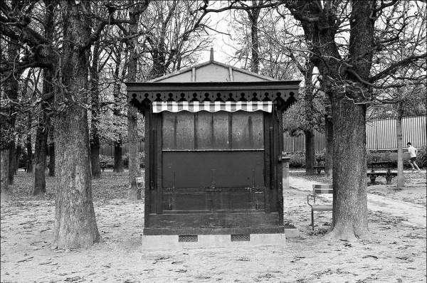 le kiosque en hiver