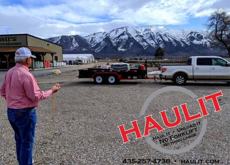 hauling pallets with haulit pallet delivery
