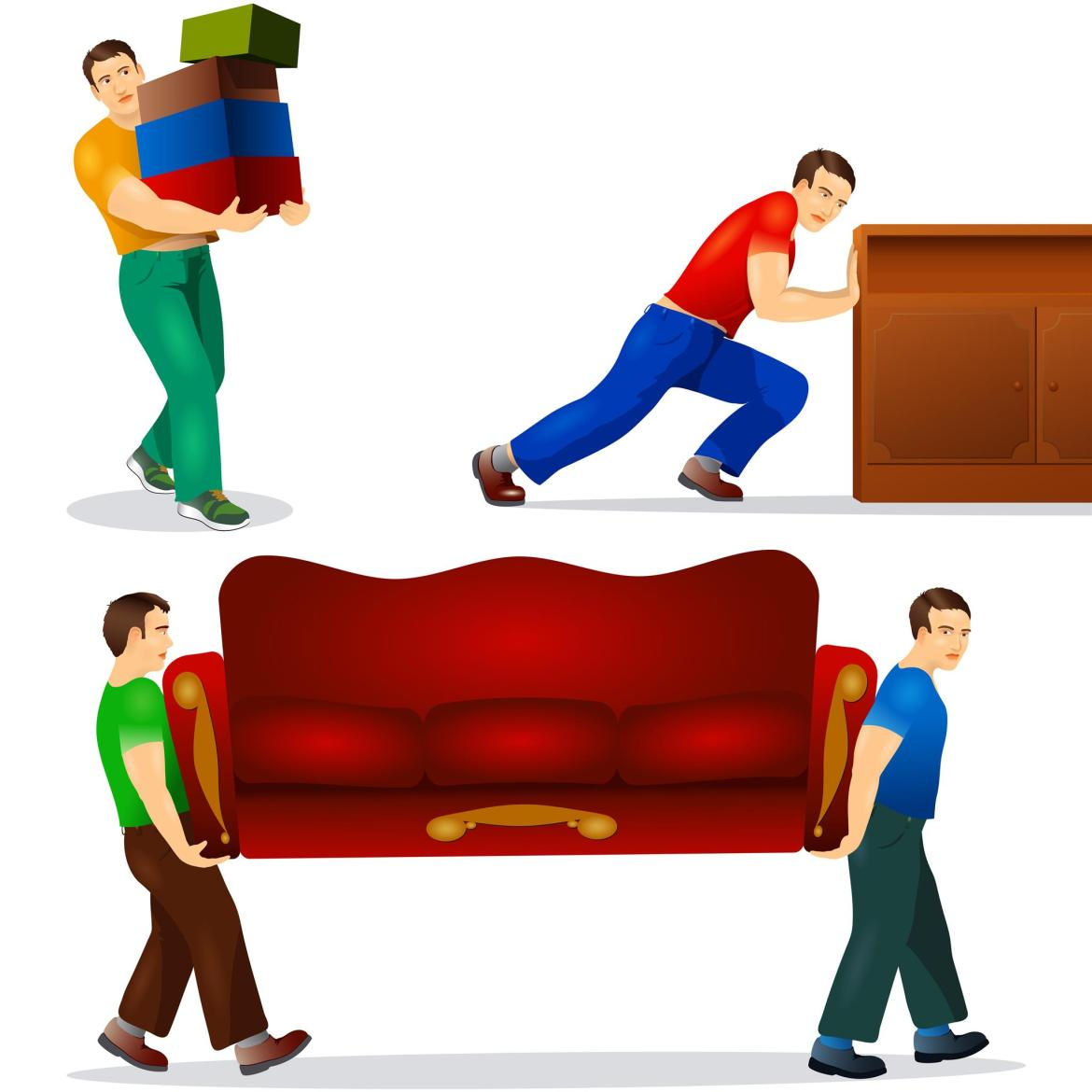 Furniture removal in Shore Acres FL