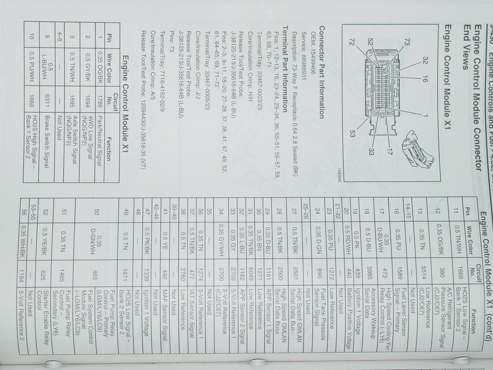 hight resolution of pin out s for electric fans lb7 ecm wiring diagram