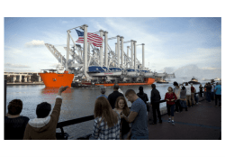 Container Capacity is Increasing at Port of Savannah