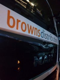 Haultech installing connected 3G cameras into Browns Distribution vehicles