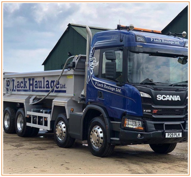 Family-Owned P Lack Haulage Benefit from Increased Efficiency with HaulTech