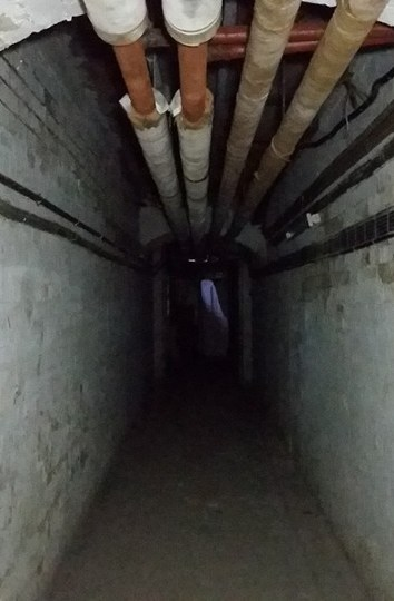 Return to Carrington Unitec – Basement tunnels