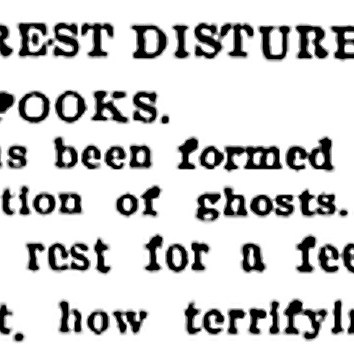 State-of-the-art Ghost Hunting…in 1908