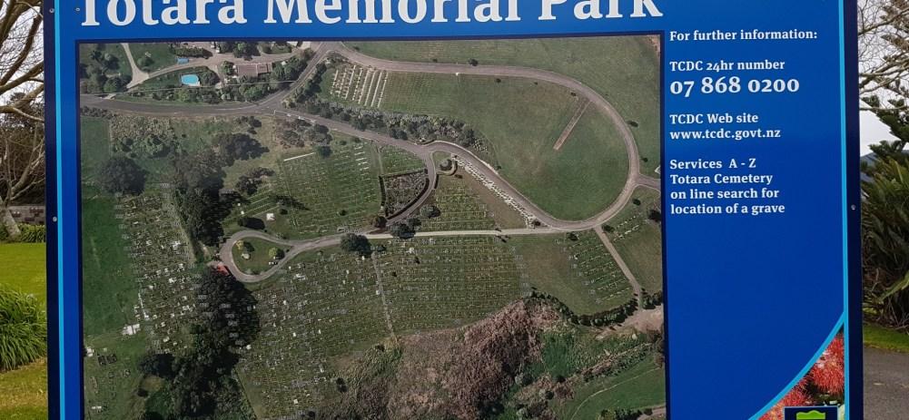 Totara Memorial Park – Thames
