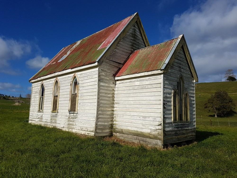 Abandoned Zion Church - Matakohe
