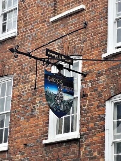 The George & Dragon pub – West Wycombe, Buckinghamshire