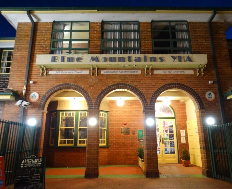 Blue Mountains YHA, Katoomba.