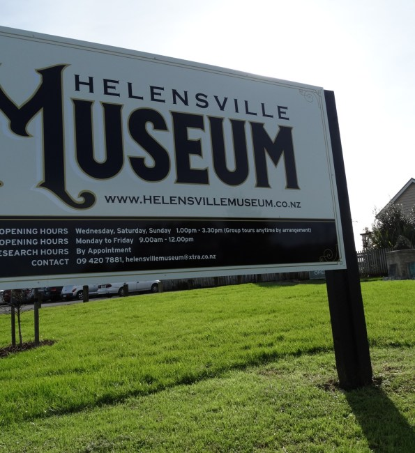 Helensville Museum – Exploratory first session