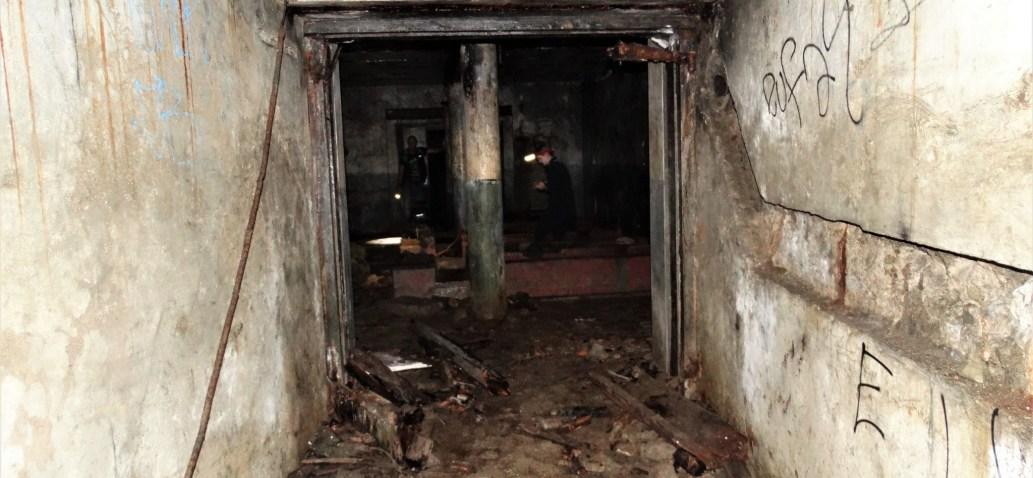 Old WW2 underground Generator Room & tunnel – Auckland