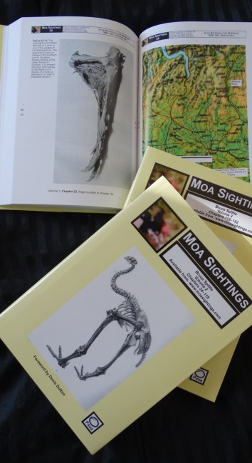 Moa Sightings: Vol 1-3  by Bruce Spittle
