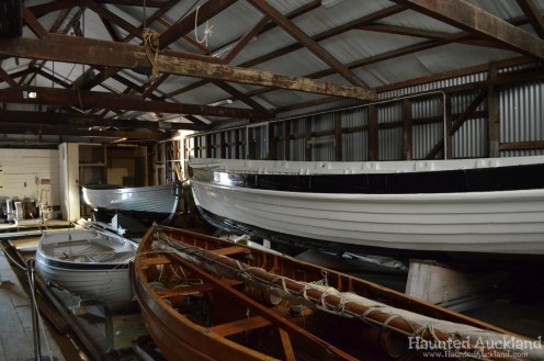 Boat Shed Interior - Torpedo Bay Naval Museum