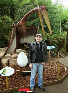 Me and Quetzalcoatlus, Bristol Zoo