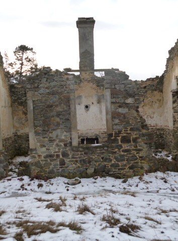 St Bathans Old School Ruins