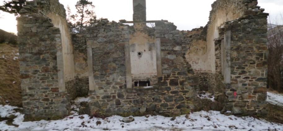 St Bathans Old School Ruins