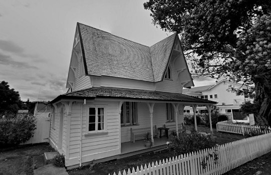 Russell Police House Haunting