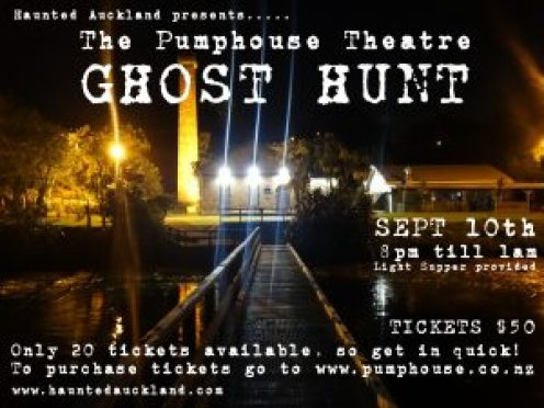 pumphouse ghosthunt