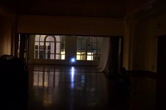 Ballroom windows