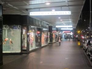 Queen Street store frontage