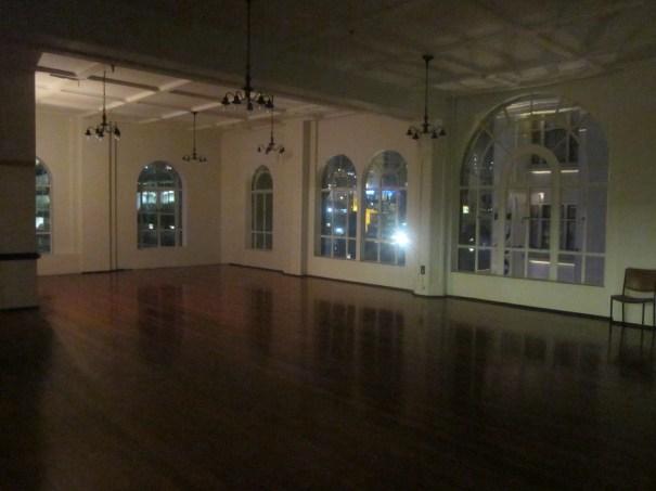 Ballroom, windows facing Eliott Street