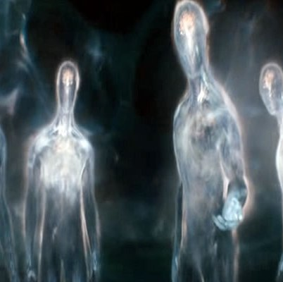 What are your thoughts on the theory that ghosts are actually inter-dimensional travellers?