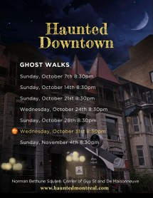 Haunted Downtown Montreal