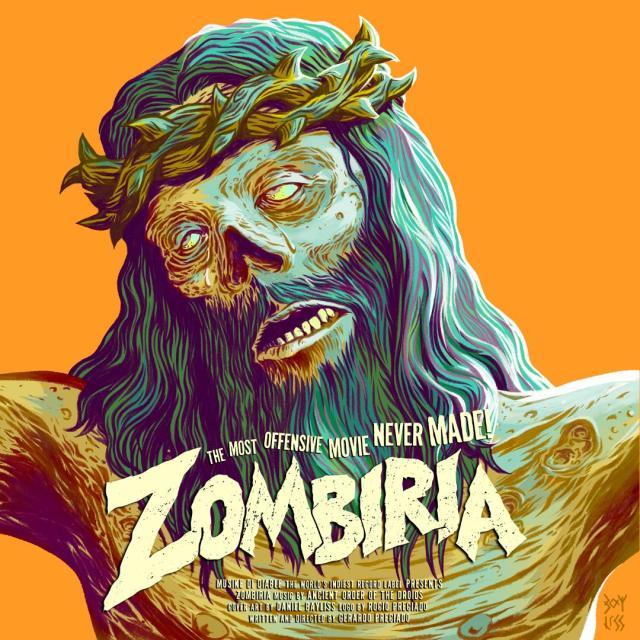 Zombiria poster.