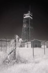 CIA Tower Black Walnut Point Tilghman Island Maryland Infrared Photography
