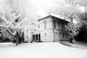 Haunted Courthouse Cambridge Maryland Infrared Photography