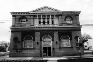 Haunted Maryland Bank Building Infrared Photography
