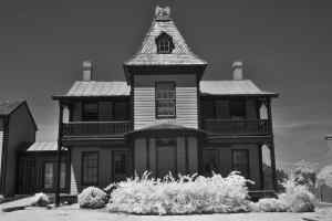 The Haunted Eagle House, St. Michaels, Maryland Infrared Photography