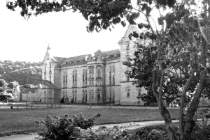 Trans-Allegheny Lunatic Asylum Black and White Photography