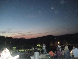 sunset - Arrington Vineyards
