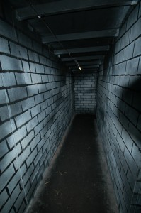 Going down hallway1