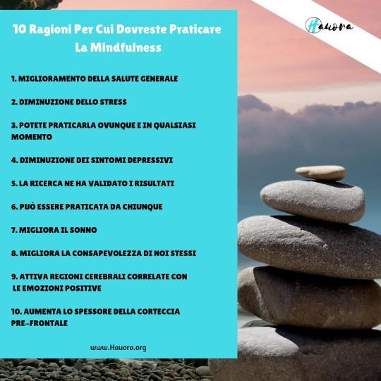 Benefici Mindfulness