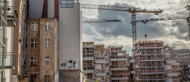 Immobilienboom in Berlin - überall wird gebaut, was das Zeug hält