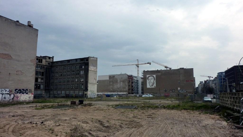 Berlin Mitte - Abriss und Neubau ist an der Tagesordnung