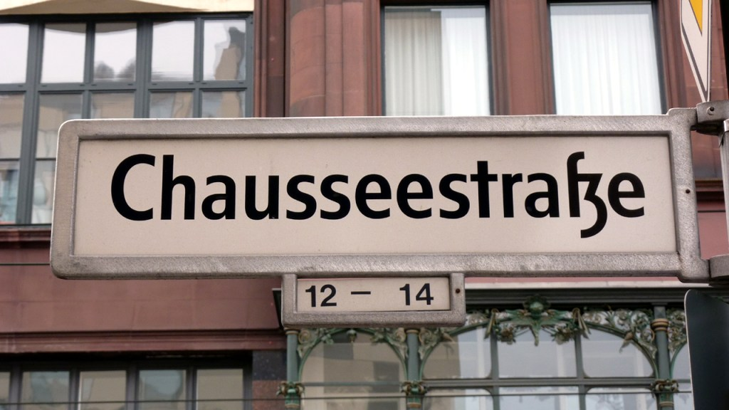 Berlin Mitte - Chausseestrasse
