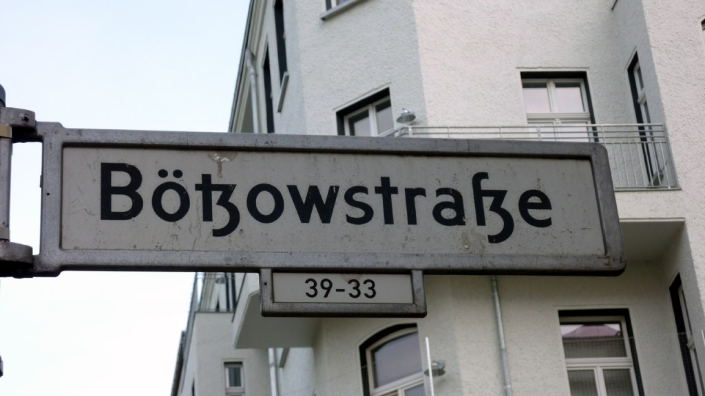 Berlin Prenzlauer Berg - Sanierungserhaltungsgebiet Bötzowstrasse - Bild 1