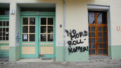 Es regt sich Wiederstand unter den Berlinern gegen die Massen von Touristen.
