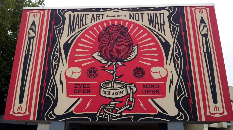 Mach Kunst, nicht Krieg!