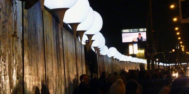 25 Jahre Mauerfall – Lichtgrenze Berlin