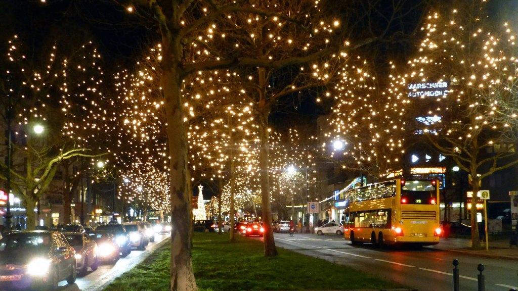 Lichterglanz zu Weihnachten am Kurfürstendamm