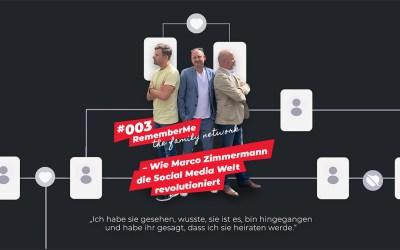 #003 – RememberMe – the family network |  Revolution der Social Media Welt