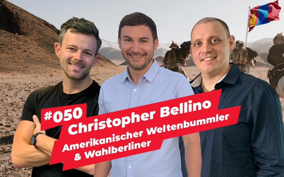 #050 – Christopher William Bellino (Lillee Tissot van Patot) | Amerikanischer Weltenbummler & Wahlberliner