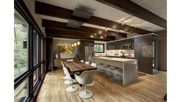 modern architecture kitchen Mid Century Modern Renovation – HAUS | Architecture